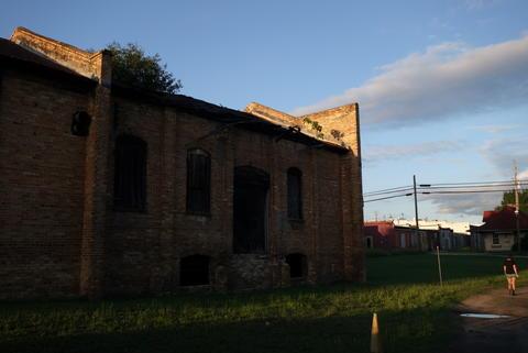 Abandoned rail station.