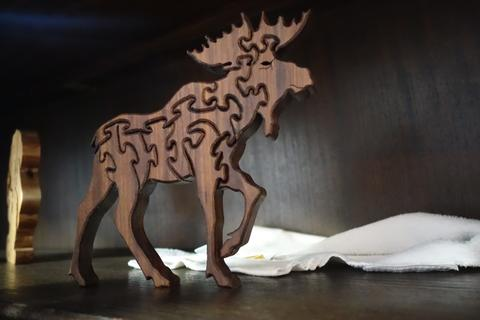 Moose jigsaw puzzle