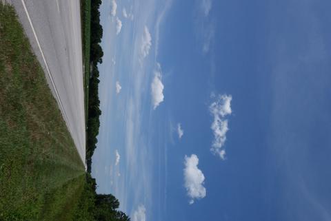 Roadside sky
