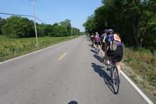 Paceline riding