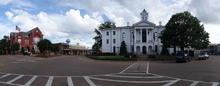 Town square panorama