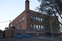 Back side of the school.