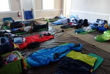 Sleeping bags galore!