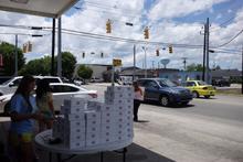 Roadside donuts.