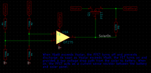 The low-voltage disconnect circuit.